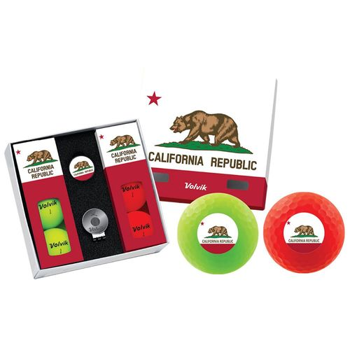 Volvik Men's California State Edition Golf Balls