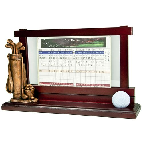 Clubhouse Collection Golf Score Card Holder