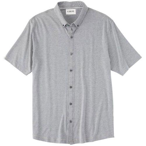 Linksoul Anza Heathered Button-Down Shirt