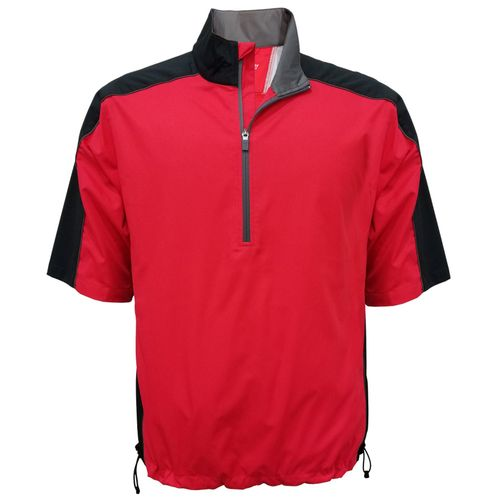 Pinseeker Men's 1/2-Zip Short Sleeve Wind Shirt
