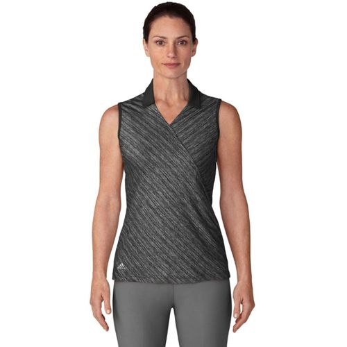 adidas Women's Crossover Novelty Sleeveless Polo