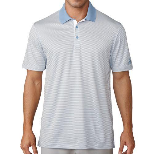 adidas Men's 2-Color Stripe Polo
