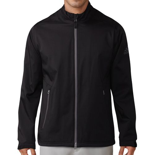 adidas Men's Climaproof Heather Full-Zip Rain Jacket