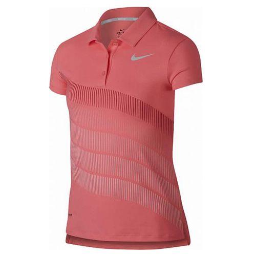 Nike Girls' Dri-Fit Printed Polo
