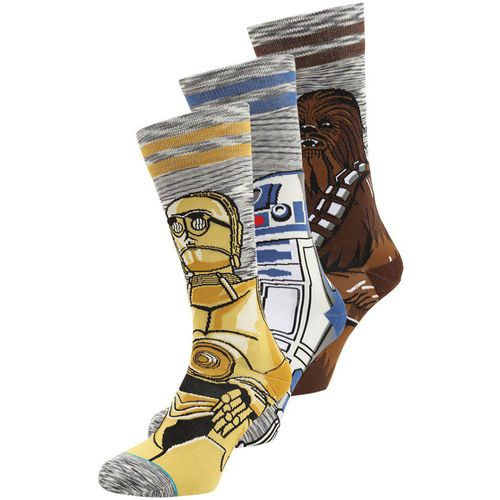 Stance Men's Star Wars Sidekick Socks - 3 Pack