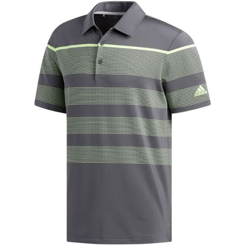 adidas Men's Ultimate365 Dash Stripe Polo
