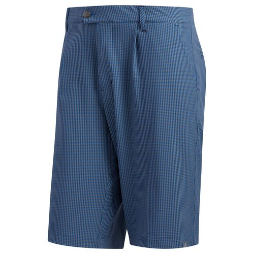 adidas Men's Ultimate 365 Gingham Plaid Shorts