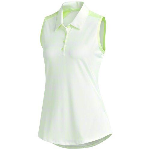 adidas Women's Ultimate Printed Sleeveless Polo