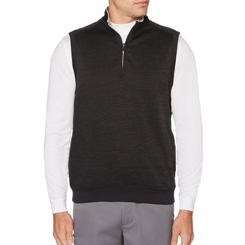 Ben Hogan Men's Water Repellent Heather Fleece 1/4-Zip Vest