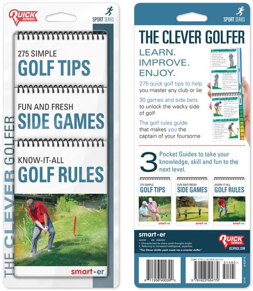 The Clever Golfer Quick Series 3-Pack: Tips, Games and Rules