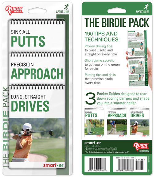 The Birdie Pack Quick Series 3-Pack: Putts, Approach and Drives