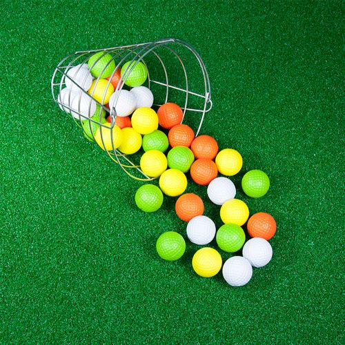 JEF World Of Golf Range Bucket with Foam Practice Balls