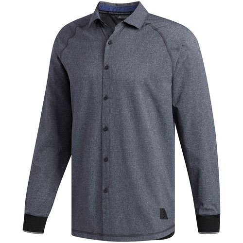 adidas Men's Adicross Beyond18 Oxford Long Sleeve Shirt