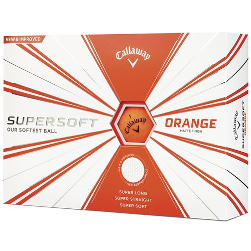 Callaway Supersoft Matte Custom Golf Balls