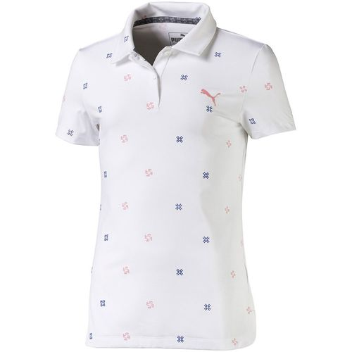 Puma Girls Ditsy Polo
