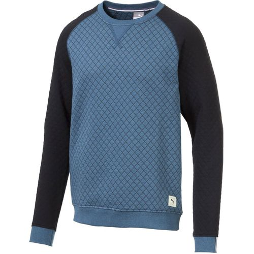 Puma Men's Quilted Crew Sweater
