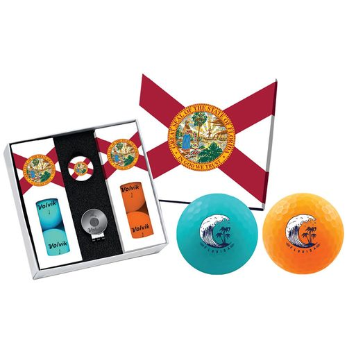 Volvik Men's Matte State Florida Edition Golf Balls
