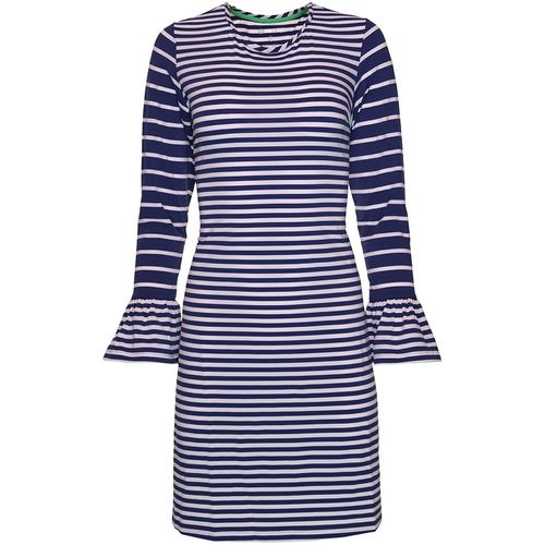 Ibkul Women's Bell Sleeve Dress