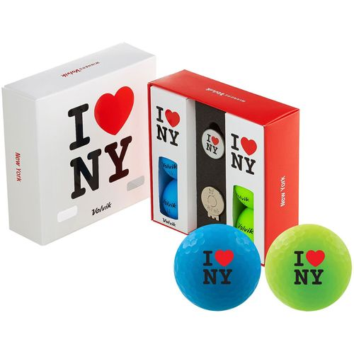 Volvik Matte State New York Edition Golf Balls