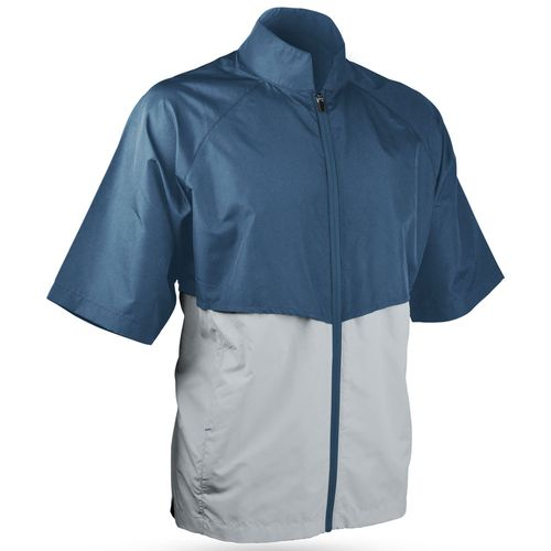 Sun Mountain Men's Headwind Short Sleeve Full Zip Jacket