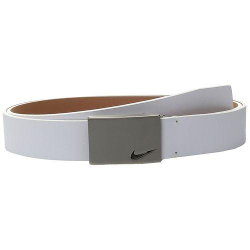 Nike Men's No Hole Plaque Belt