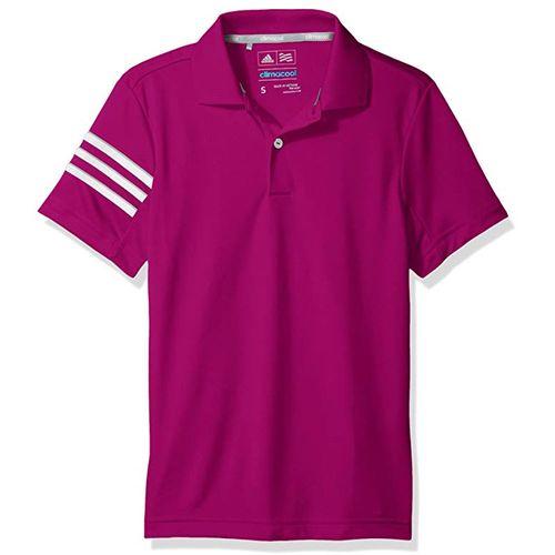 adidas Juniors' 3-Stripes Polo