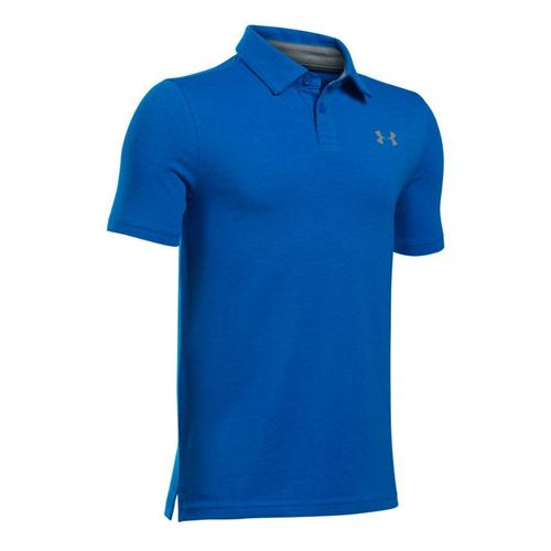 Under Armour Junior's Charged Cotton Heather Polo