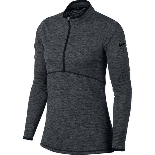 Nike Women's Dri-Fit Long Sleeve 1/2-Zip Top