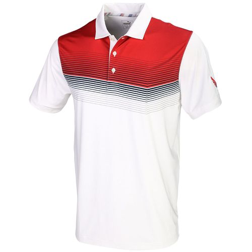 Puma Men's Volition Road Map Polo