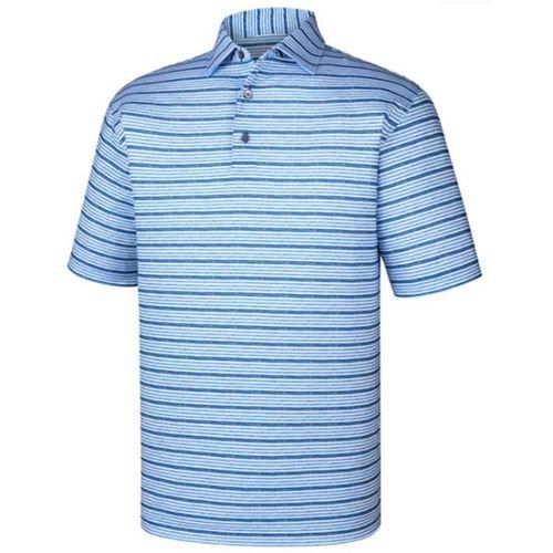 FootJoy Men's Lisle Space Dye Stripe Polo