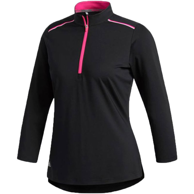 adidas-Women-s-Climacool-1-2-Zip-Mock-Polo-1124887
