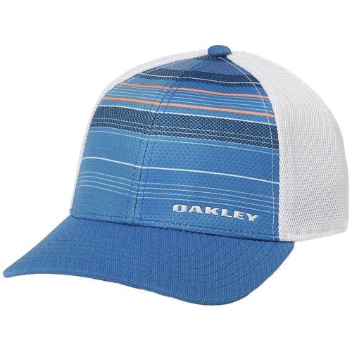 Oakley Men's Silicon Bark Trucker Print 2.0 Hat