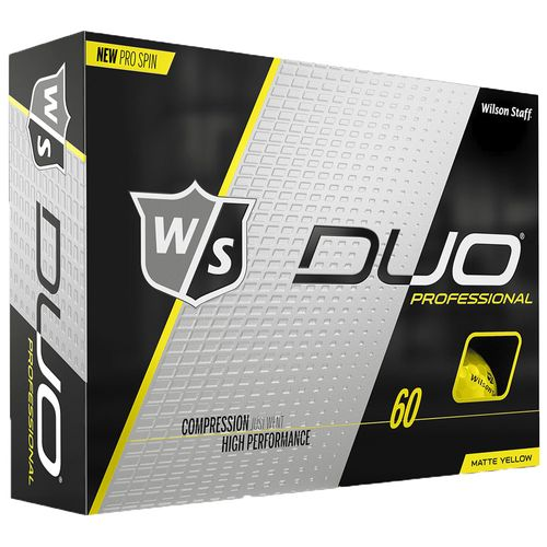 Wilson Staff DUO Professional Matte Golf Balls