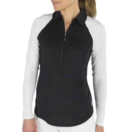 JoFit Women's UV Protection Long Sleeve Polo