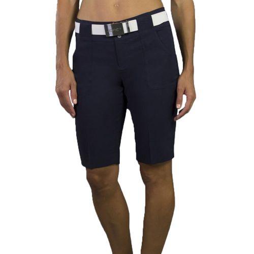 JoFit Women's Belted Bermuda Shorts