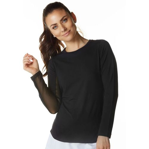 Ibkul Women's Solid Crew Neck Top