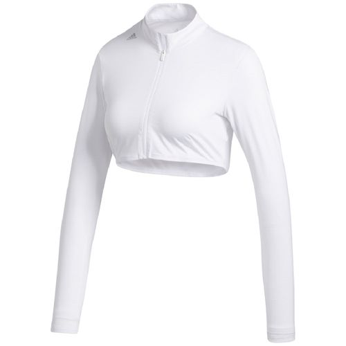 adidas Women's Cropped UV Base Long Sleeve Layer