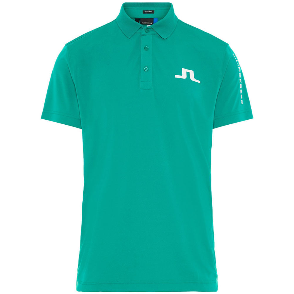 J.Lindeberg Mens Tour Tech Tx Jersey Polo Shirt