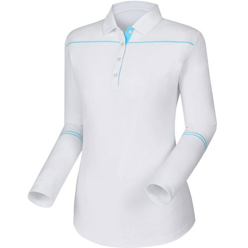 FootJoy Women's Sun Protection Long Sleeve Polo