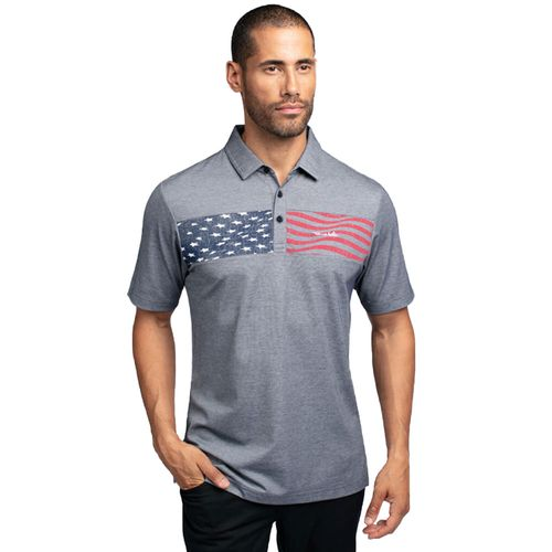 TravisMathew Men's Brodeo Polo