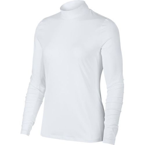 Nike Women's Dri-Fit UV Long Sleeve Mock Polo