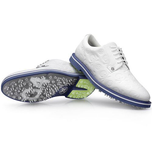 G/FORE Men's Embossed Skull & T's Gallivanter LE Spikeless Golf Shoes