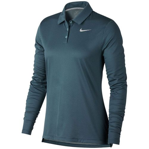 Nike Women's Dri-Fit Long-Sleeve Polo