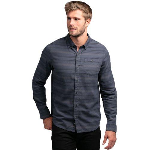 TravisMathew Men's Vibrato Long Sleeve Button Down Shirt