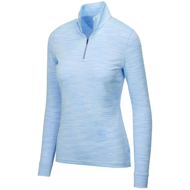 Greg-Norman-Women-s-Heathered-Mesh-1-4-Zip-Stretch-Long-Sleeve-Mock-2136858