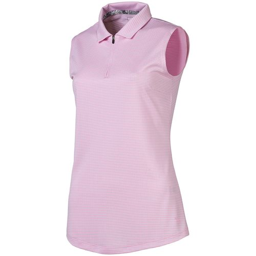 Puma Women's Checker Sleeveless Polo