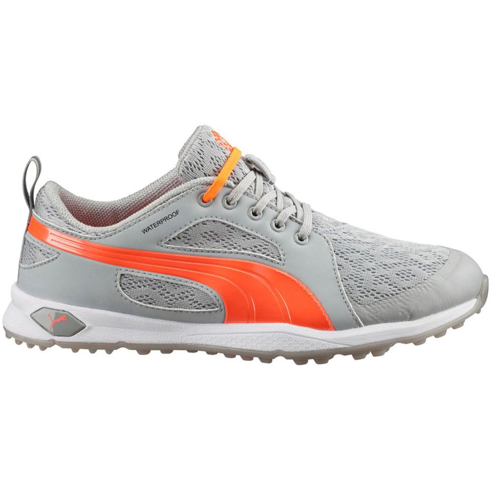 puma waterproof trainers