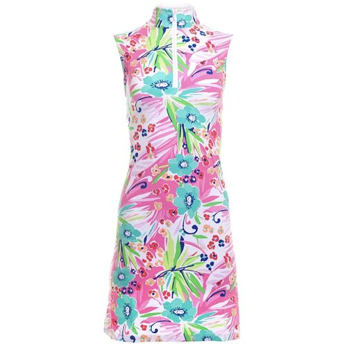 Ibkul Women's Sleeveless Mock Dress