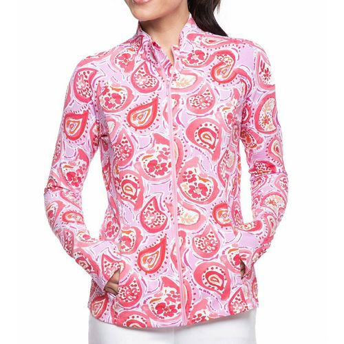 Ibkul Women's Full Zip Runners' Knit Jacket