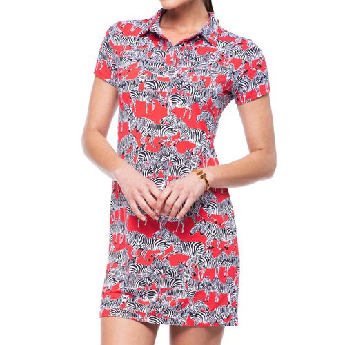 Ibkul Women's Promenade Polo Dress